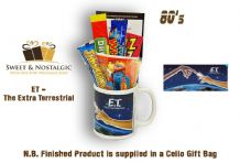 ET - The Extra Terrestrial Mug - with/without a selection of 80's Retro Sweets